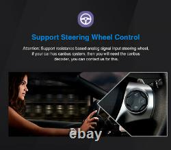 Pumpkin 8 Core Double Din 10.1 Android 10.0 Voiture Radio Stereo 4 Go 64 Go Gps Wifi