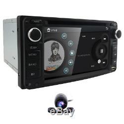 Radio Bluetooth Pour Toyota Double 2din Au Tableau De Bord Gps Lecteur DVD De Voiture Rds Capacitif