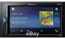 Radio Stéréo De Voiture Stéréo De Voiture De Chrysler Jeep Dodge Pioneer À Écran Tactile Bluetooth