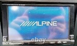 Rare Vintage / Old School Car Double Din Alpine Iva-w205r + Ipod Gratuit