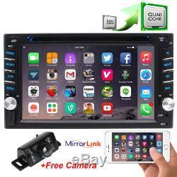 Récepteur De Navigation Pour Android CD Double Gps Android 2-din 6.2 Voiture Stéréo