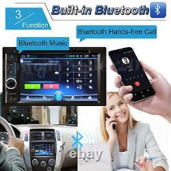 Récepteur Mp3 En Dash De Voiture Stereo Avec Un Miroir D'entrée Auxiliaire Usb Pour Gps