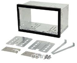 Remplacement Double Din Kit Car Stereo Radio Sleeve Cage Box Unité Universelle
