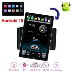 Rotation 10.1'' Android 10.1 Écran Tactile Voiture Stéréo Radio Gps Wifi Double 2din