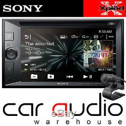 Sony 6.2 Double Din DVD Mp3 Usb Aux Bluetooth Écran De Voiture Av Écran Tactile