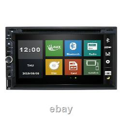 Sony CD Double Objectif 2din Indash 7 Car Stereo Radio Lecteur DVD Aux Usb Bluetooth