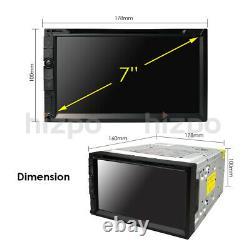 Sony Lens Double 2 Din 7 Dans Dash Stereo Lecteur DVD De Voiture Bt Radio Ipod Sd/usb+cam