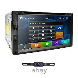 Sony Lens Double 2din 7car Stereo Radio Lecteur DVD Ipod Bluetooth Tv Mp3 MIC Hd