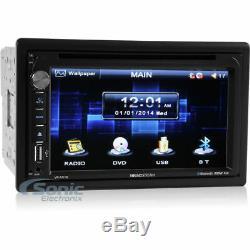 Soundstream Stéréo De Voiture DVD / CD Bluetooth Double 2 Din Bluetooth Avec Écran Tactile Vr-651b
