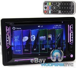 Soundstream Vr63b 6.2 Tv CD Mp3 DVD Bluetooth Usb Aux 300w Amplificateur Stéréo De Voiture