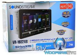 Soundstream Vr-1032xb 10.3 DVD CD Bluetooth 300w Amp Stéréo De Voiture Sirius XM Ready
