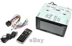 Soundstream Vrcp65 Double Din Bluetooth DVD / CD / Stéréo De Voiture Apple Carplay