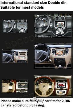 Stéréo 2din DVD De Voiture Radio Fm Lecteur Bt Mirrorlink Gps Pour Camion Van Pick Up 4x4