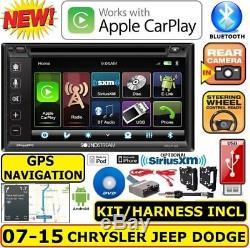 Système De Navigation Bluetooth / Usb / Eq Pour Système De Navigation Gps Chrysler Jeep