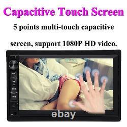 Touchscreen Car Stereo Radio Double 2 Din Gps Wifi Usb Player Avec Caméra De Secours