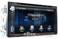 Toyota Scion CD Bluetooth Stéréo Radio Usb Installation De Voiture Double Din Kit Dash