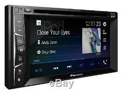 Unité De Tête Dab Stéréo Pour Autoradio CD Stéréo Bluetooth Double Din Bluetooth Pioneer Avh-a3200dab