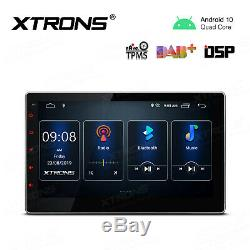 Universal Double 2 Din Android 10,0 10,1 8-core Car Gps Nav Stereo Radio Wifi