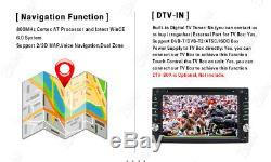 Utilisez Objectif Sony Gps Double 2din Car Stereo Radio CD Lecteur DVD Bluetooth Avec Carte