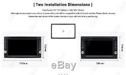 Voiture Double 6.2indash Gps Din Stereo Radio DVD Lecteur Mp3 Bluetooth Avec Carte + CCD