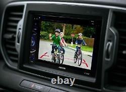 Voiture Double Din 6.2 Écran Tactile DVD Usb Médias Numériques Bluetooth Stéréo +caméra