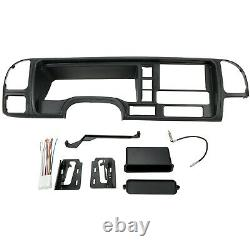 Voiture Radio Stereo Double Din Dash Kit For 95-01 Chevy 95-02 Gmc 99-00 Cadillac