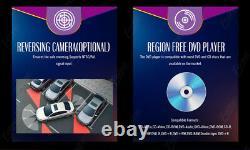 Voiture Stéréo Gps Navigation Bluetooth Radio Double 2din 6.2 CD DVD Player Camera