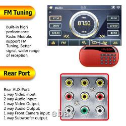 Voiture Stereo Mirrorlink-gps Bluetooth Radio Double 2 Din 6.2 CD DVD Mp5 Player