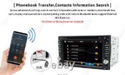 Windows 6.2 Double 2din Car Stereo Radio CD Lecteur De DVD Navigation Gps Bluetooth