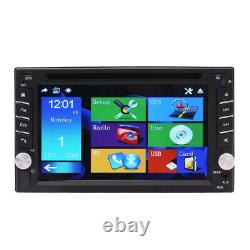 Windows 6.2 Double 2din Voiture Stereo Radio CD Lecteur DVD Gps Navigation Bluetooth
