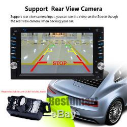 Windows 7 Double 2din Stéréo Radio CD Lecteur DVD Navigation Gps Bluetooth
