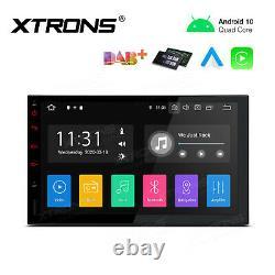 Xtrons 7 Android 10 Double 2 Din Gps Stereo Radio Sat Nav Car Auto Play Tpms 4g