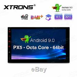 Xtrons 7 Android 9.0 Double 2din Car Stereo Radio Gps Wifi 4g Dab + 4 + 32g 8-core